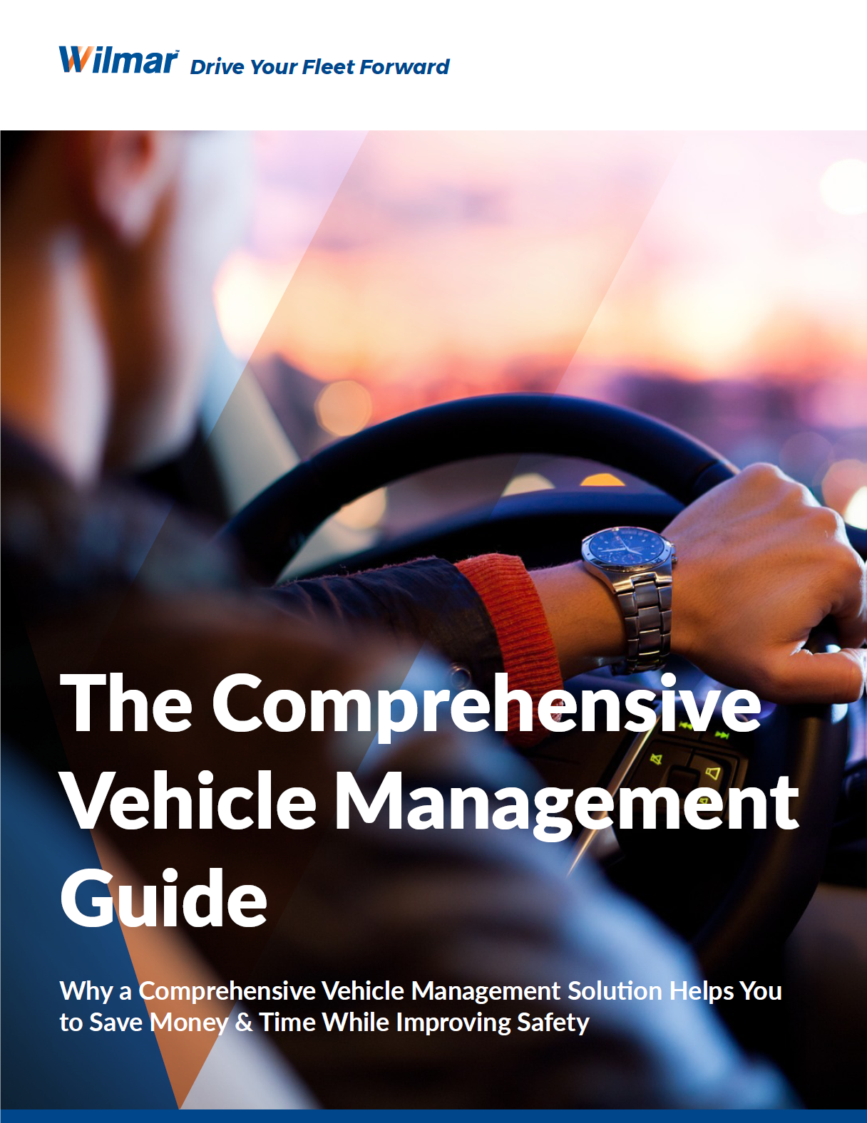 Vehicle management guide cover