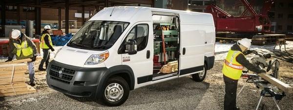 small work truck
