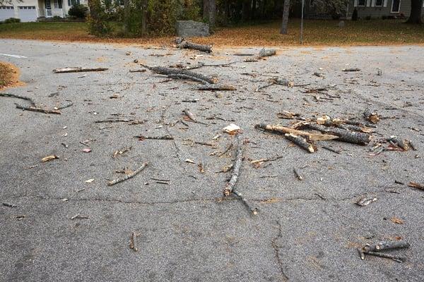 road debris
