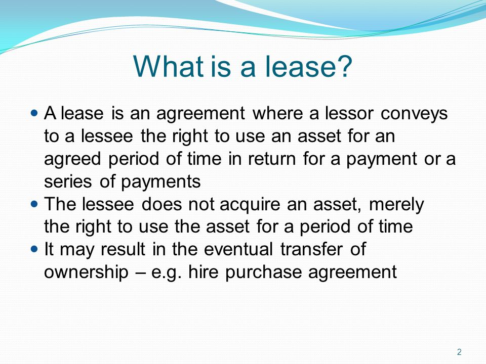 leasing a vehicle
