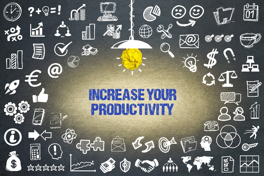 4 Ways to Increase Productivity the Right Way